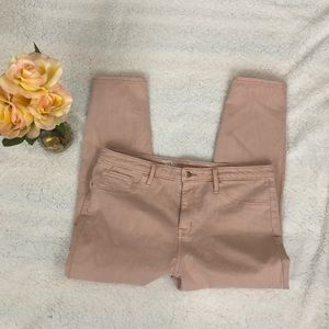 Mossimo High Rise Jegging Crop 16/33R